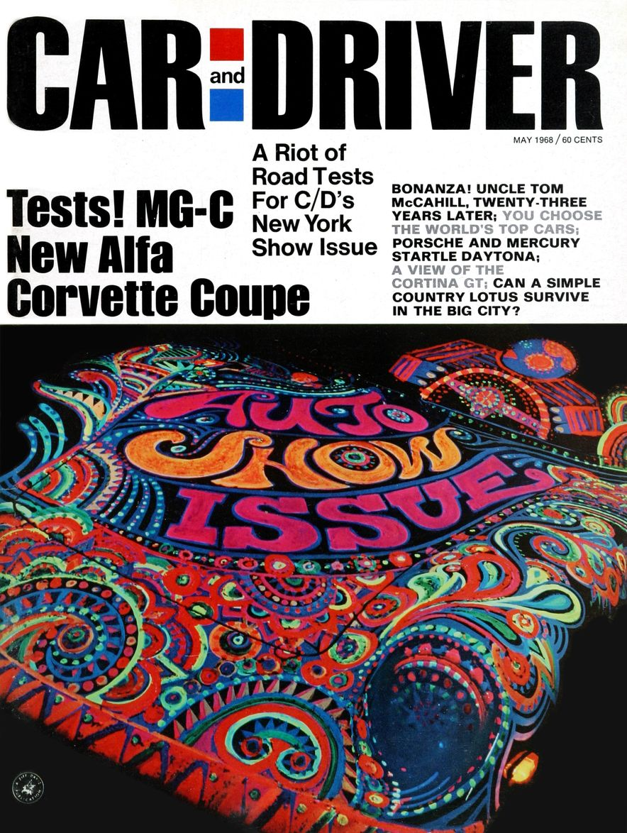 Getting Groovy and into the Groove: The Car and Driver Covers of the 1960s - Slide 102