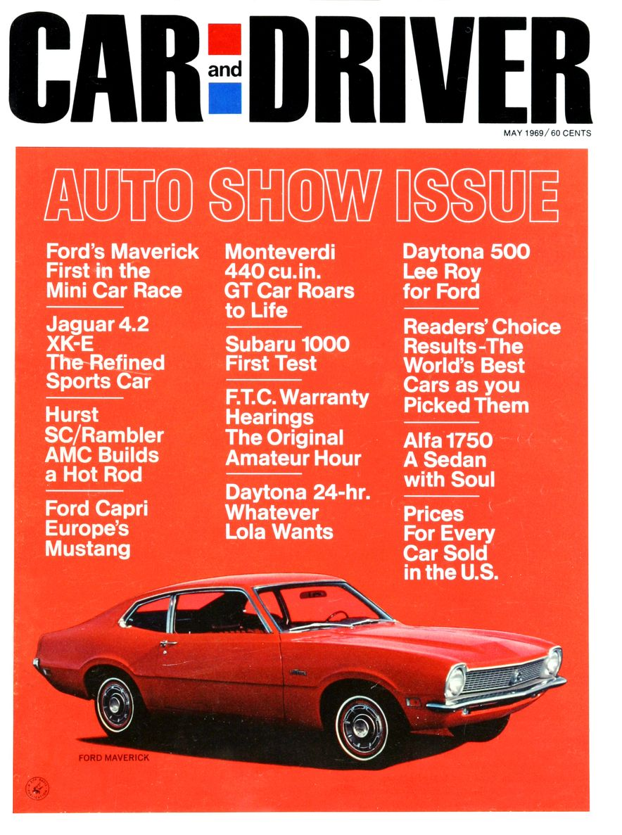 Getting Groovy and into the Groove: The Car and Driver Covers of the 1960s - Slide 114