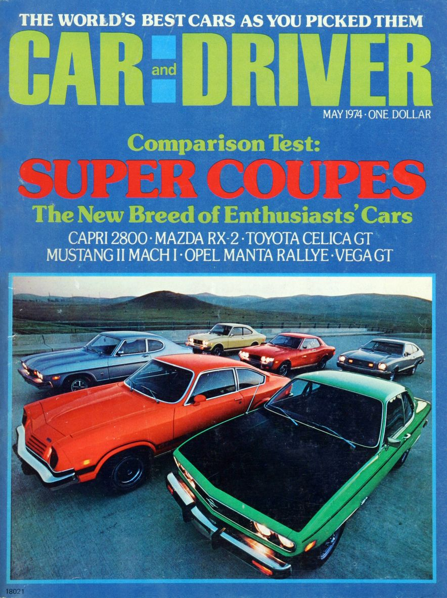 The Us Decade: The Car and Driver Covers of the 1970s - Slide 54