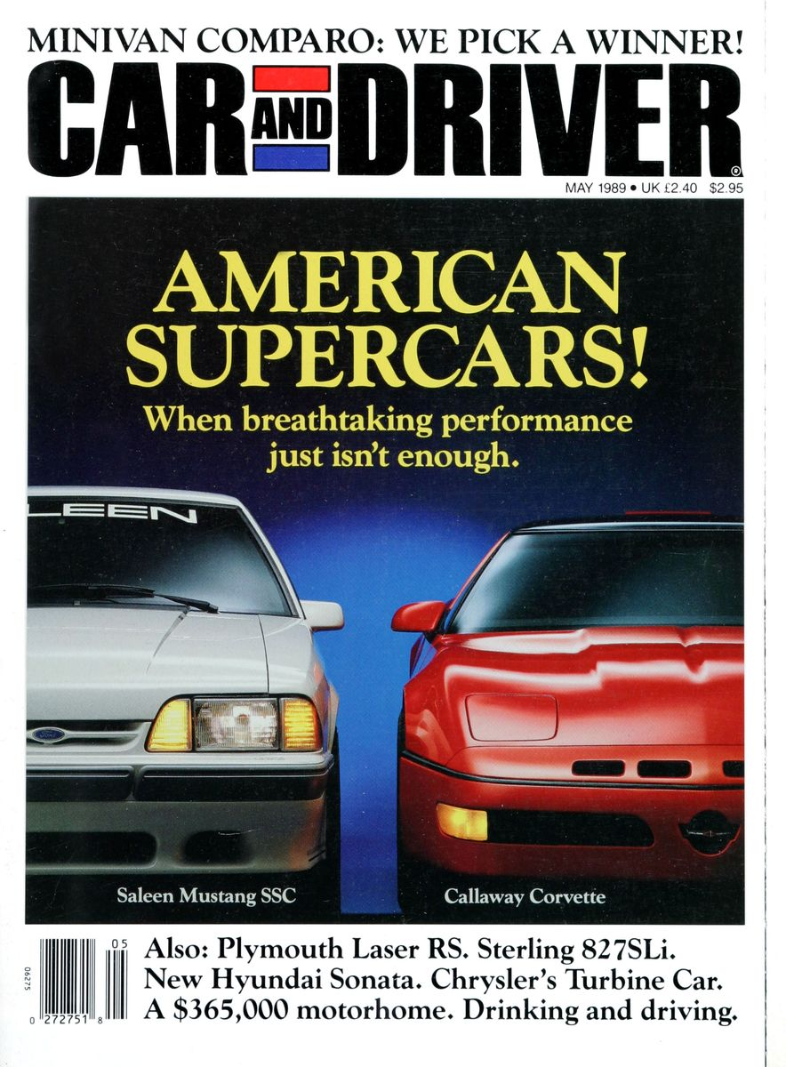 Like, Totally Rad: The Car and Driver Covers of the 1980s - Slide 114