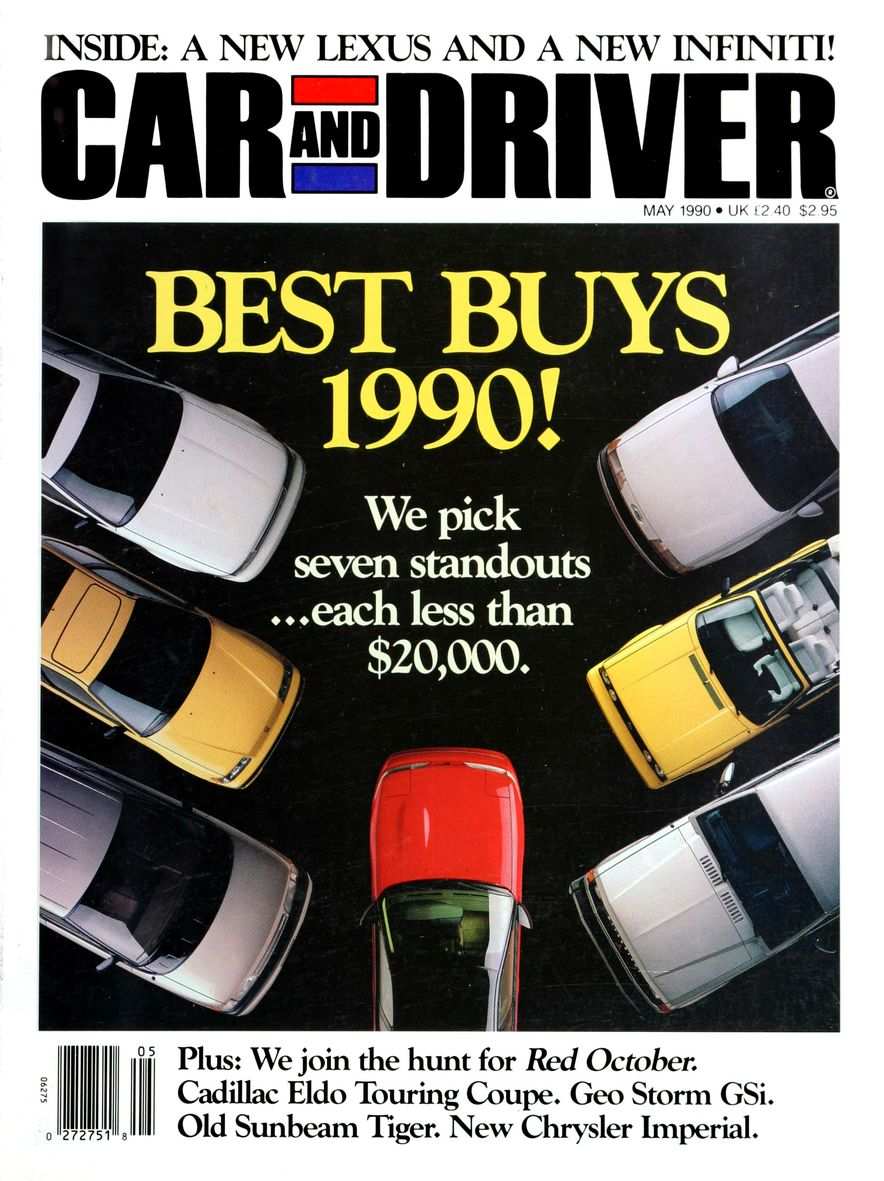 Formula C/D: The Car and Driver Covers of the 1990s - Slide 6