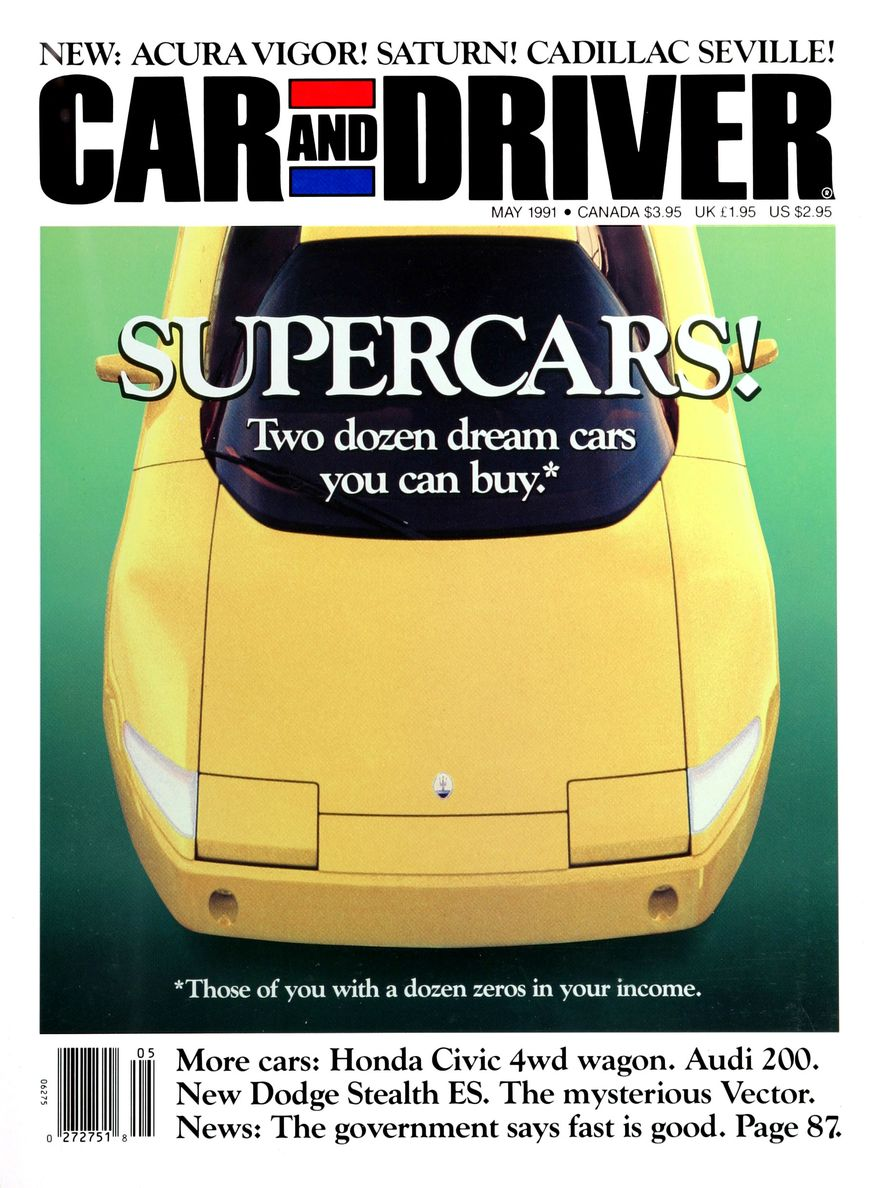 Formula C/D: The Car and Driver Covers of the 1990s - Slide 18