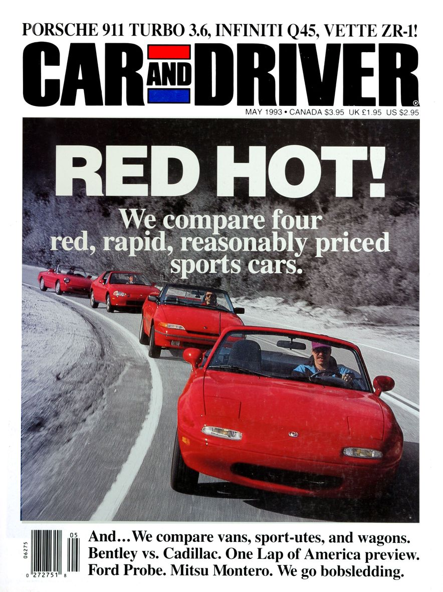 Formula C/D: The Car and Driver Covers of the 1990s - Slide 42