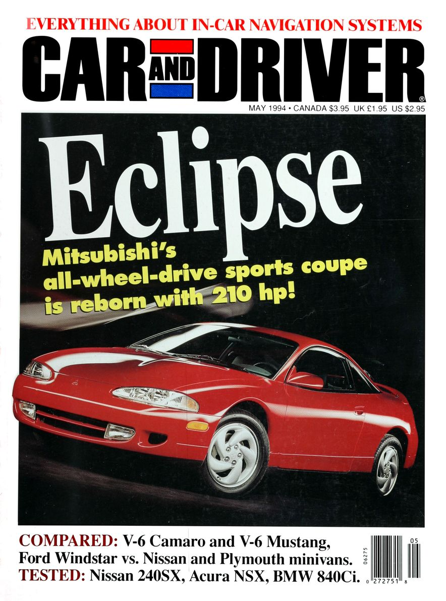 Formula C/D: The Car and Driver Covers of the 1990s - Slide 54