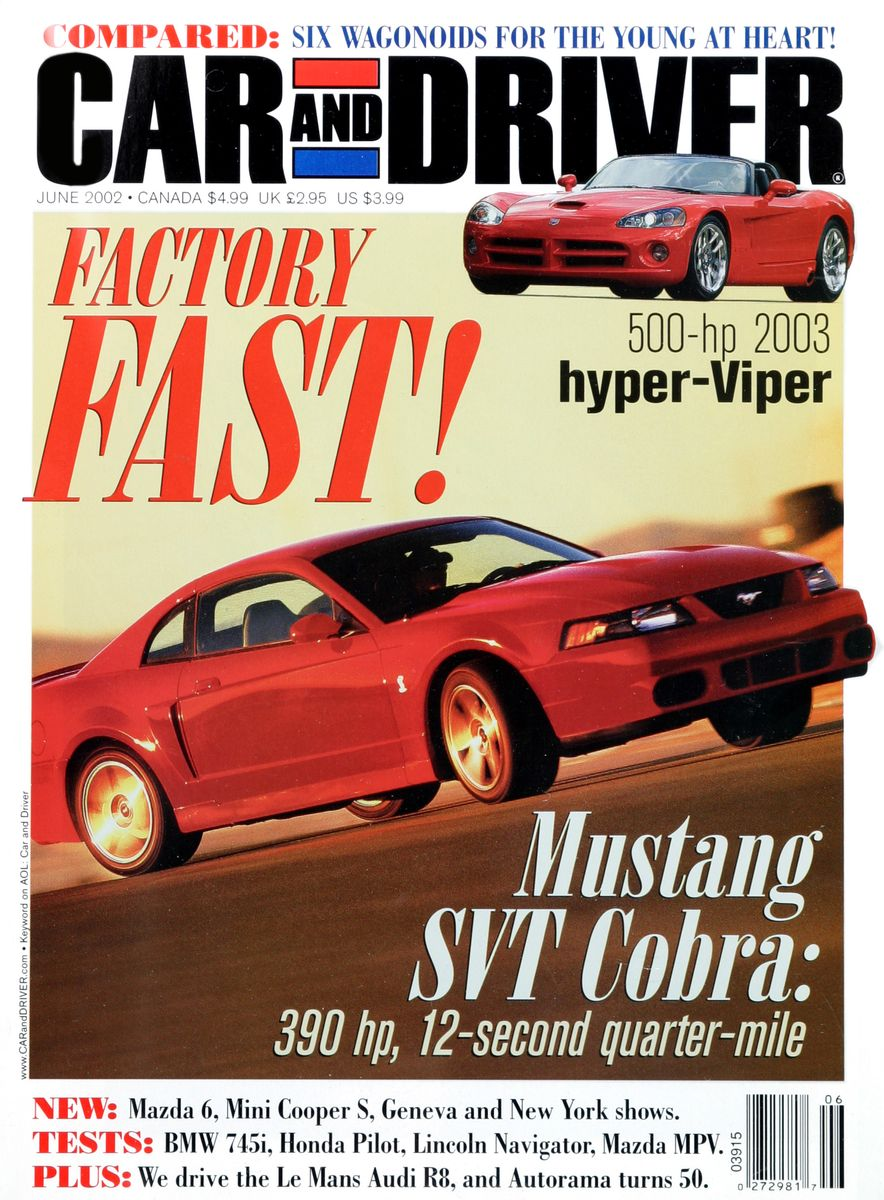 Going Millennial: The Car and Driver Covers of the 2000s and 2010s - Slide 31
