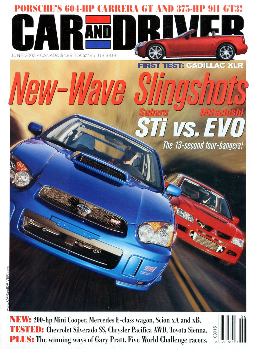 Going Millennial: The Car and Driver Covers of the 2000s and 2010s - Slide 43