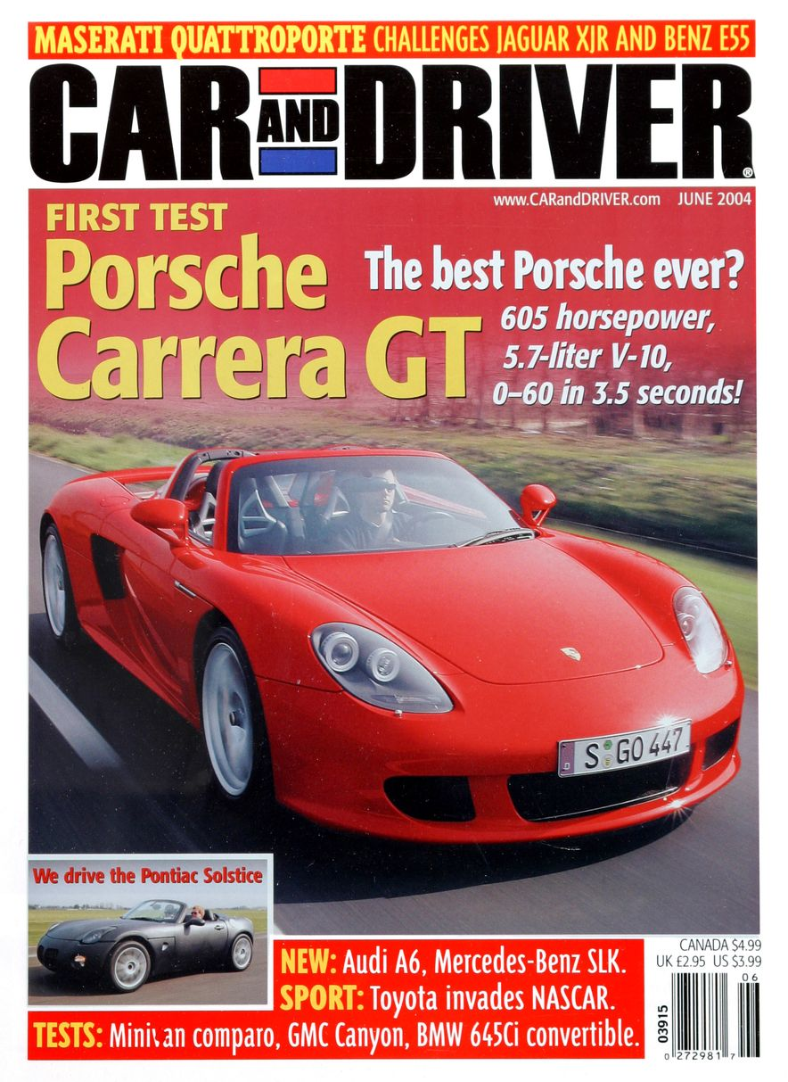 Going Millennial: The Car and Driver Covers of the 2000s and 2010s - Slide 55