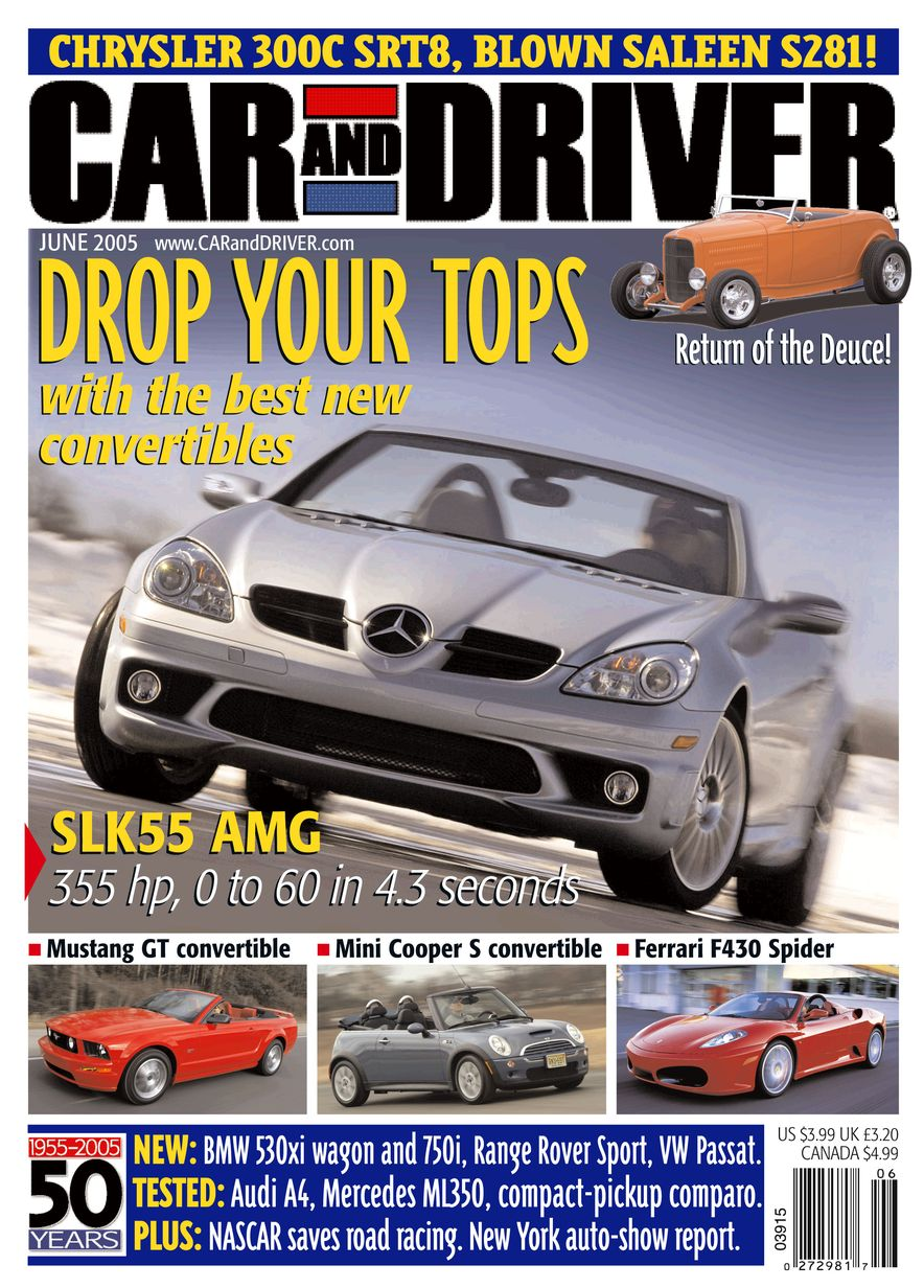 Going Millennial: The Car and Driver Covers of the 2000s and 2010s - Slide 67