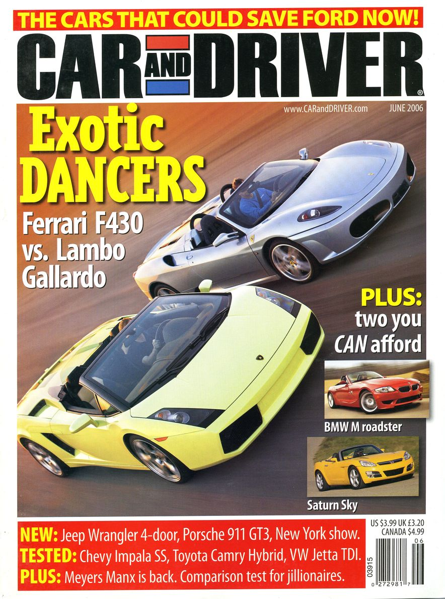 Going Millennial: The Car and Driver Covers of the 2000s and 2010s - Slide 79