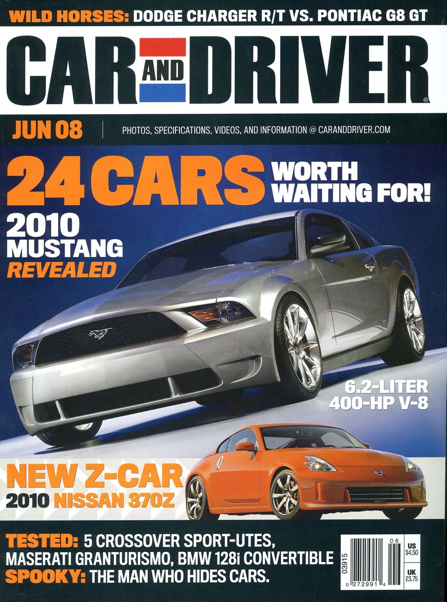 Going Millennial: The Car and Driver Covers of the 2000s and 2010s - Slide 103