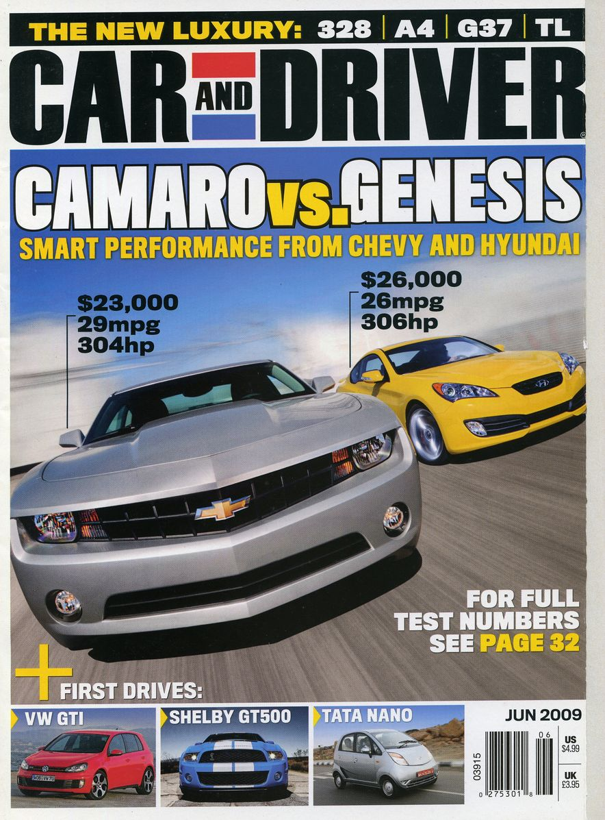 Going Millennial: The Car and Driver Covers of the 2000s and 2010s - Slide 115