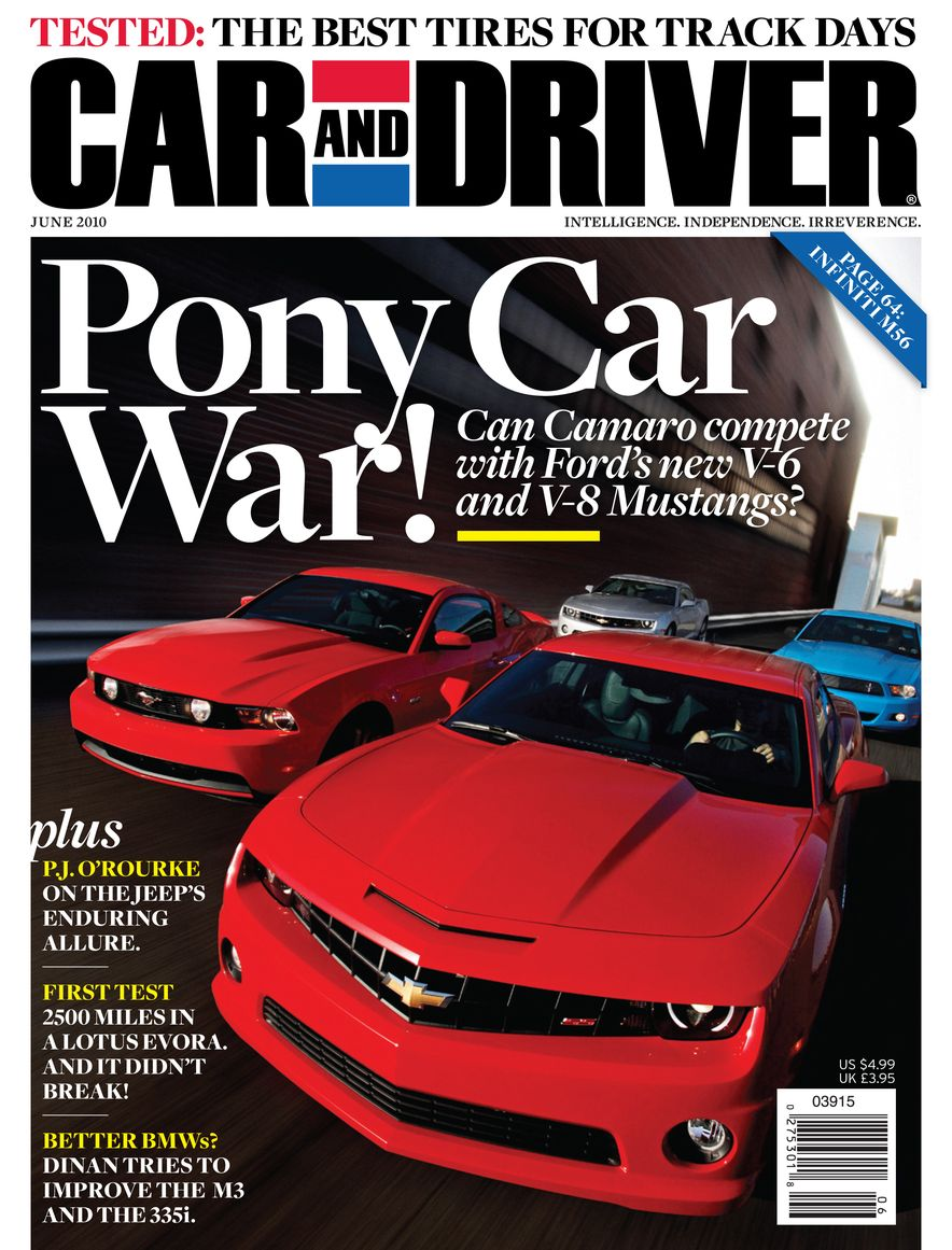 Going Millennial: The Car and Driver Covers of the 2000s and 2010s - Slide 127