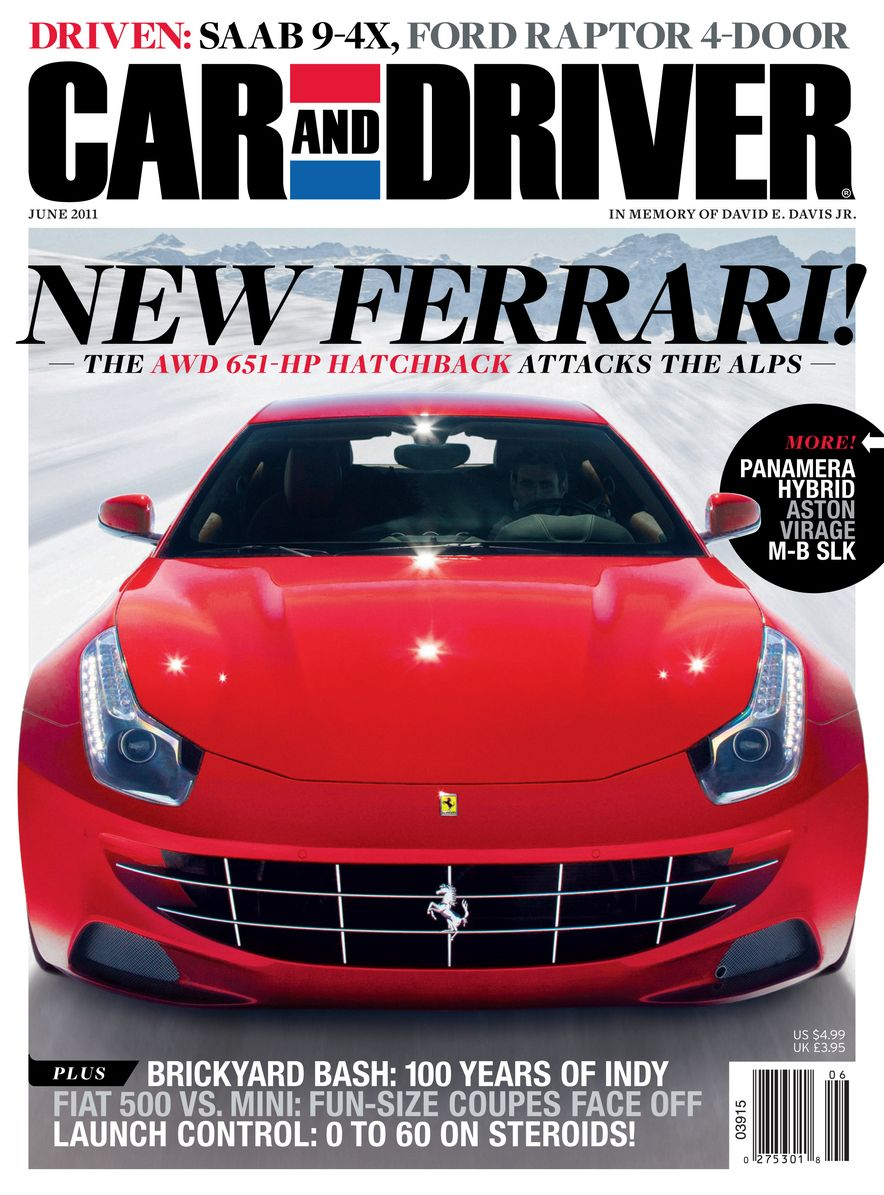 Going Millennial: The Car and Driver Covers of the 2000s and 2010s - Slide 139