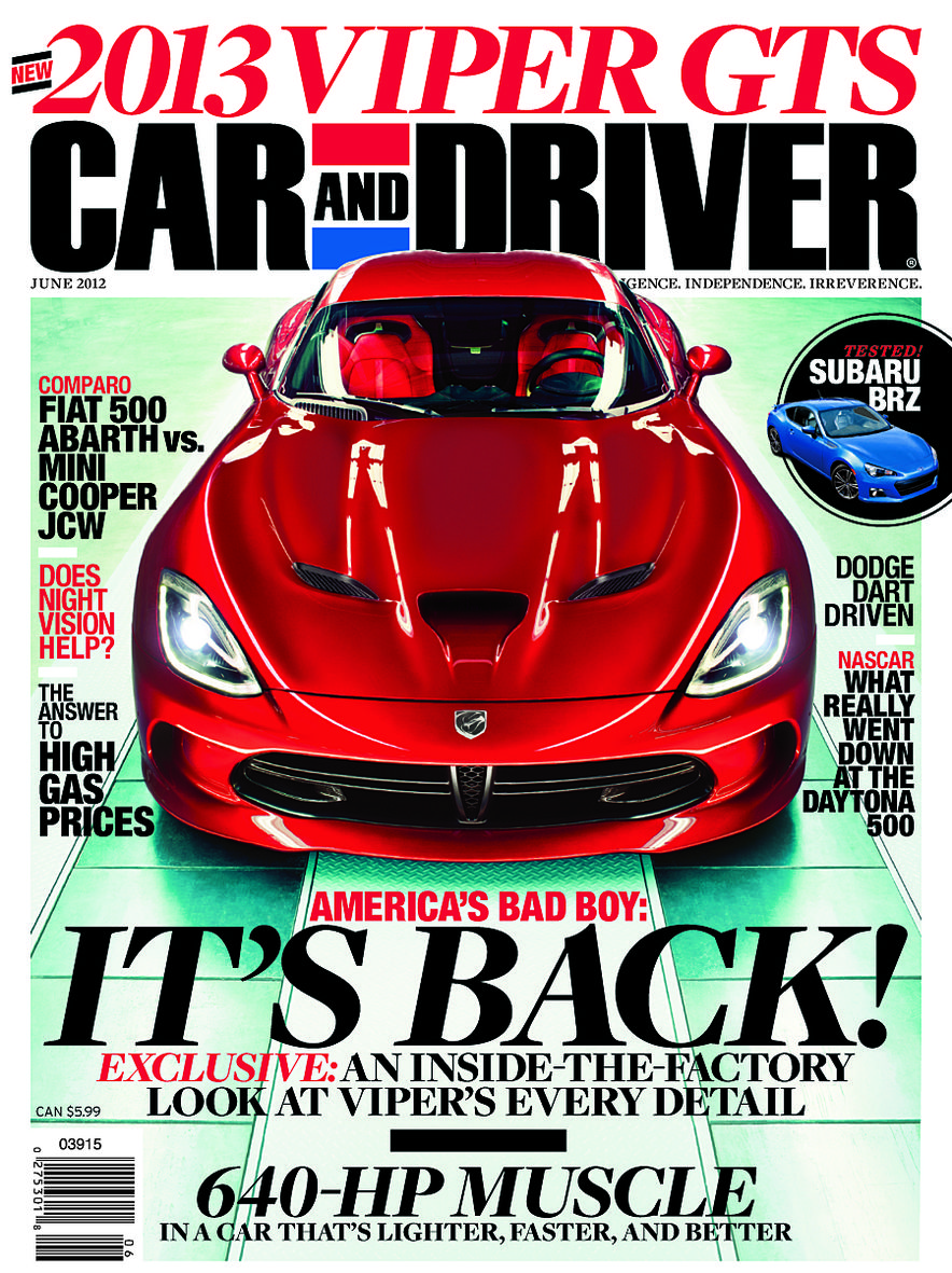 Going Millennial: The Car and Driver Covers of the 2000s and 2010s - Slide 151