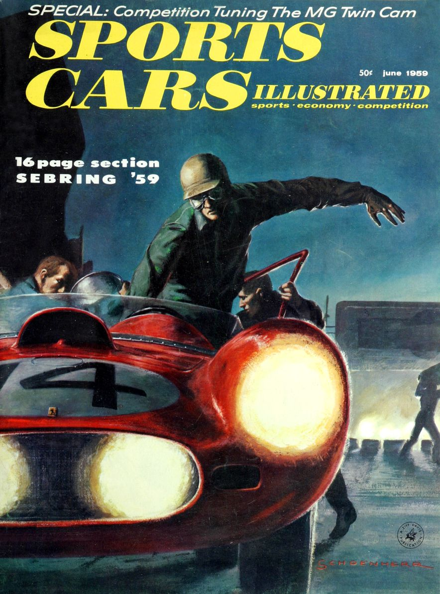 When We Were Young: The Car and Driver/Sports Cars Illustrated Covers of the 1950s - Slide 49