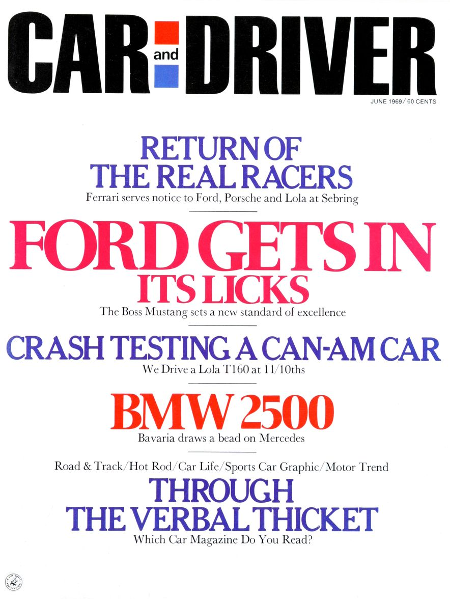 Getting Groovy and into the Groove: The Car and Driver Covers of the 1960s - Slide 115