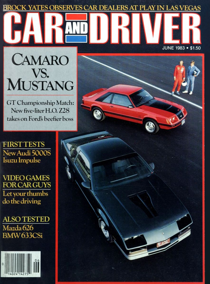 Like, Totally Rad: The Car and Driver Covers of the 1980s - Slide 43