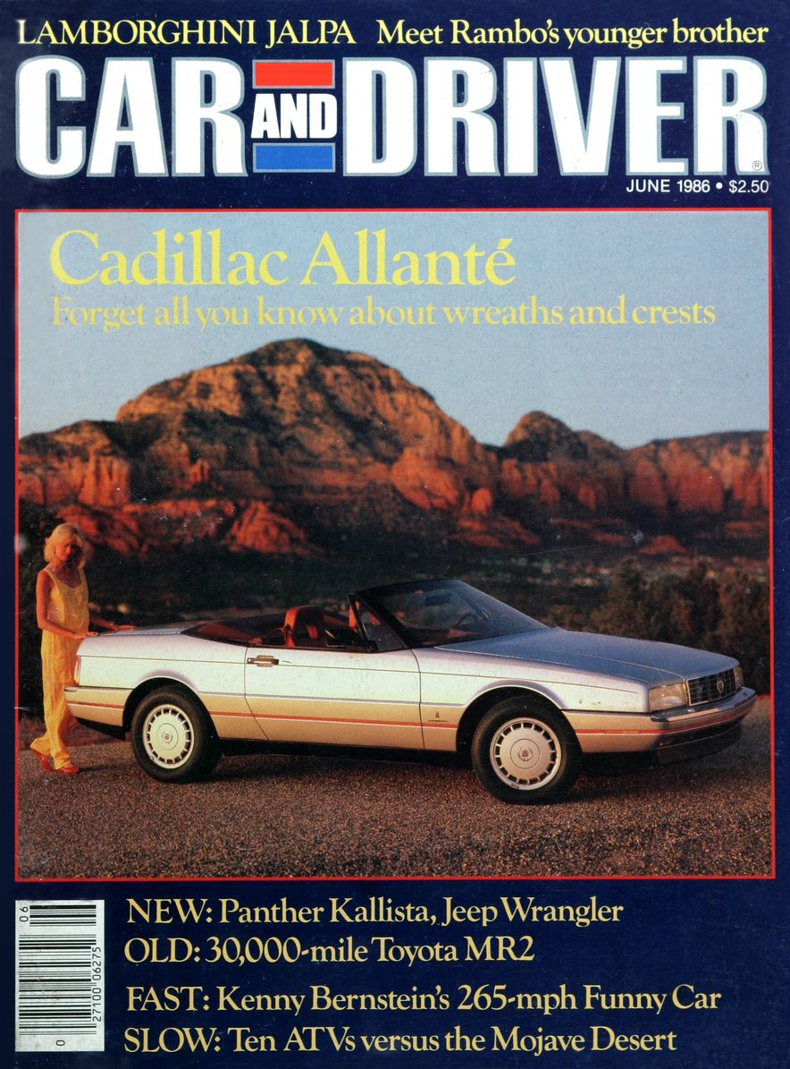 Like, Totally Rad: The Car and Driver Covers of the 1980s - Slide 79