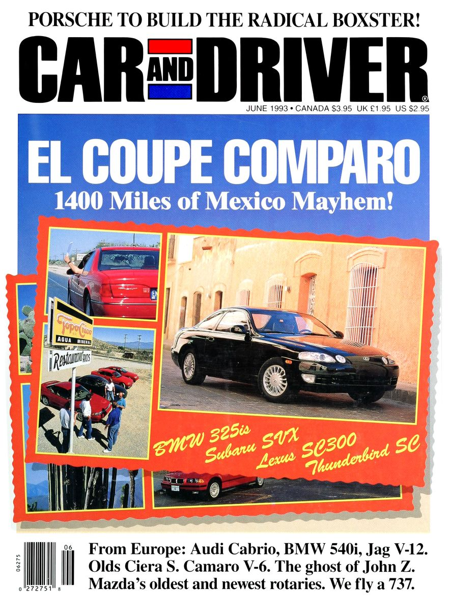 Formula C/D: The Car and Driver Covers of the 1990s - Slide 43