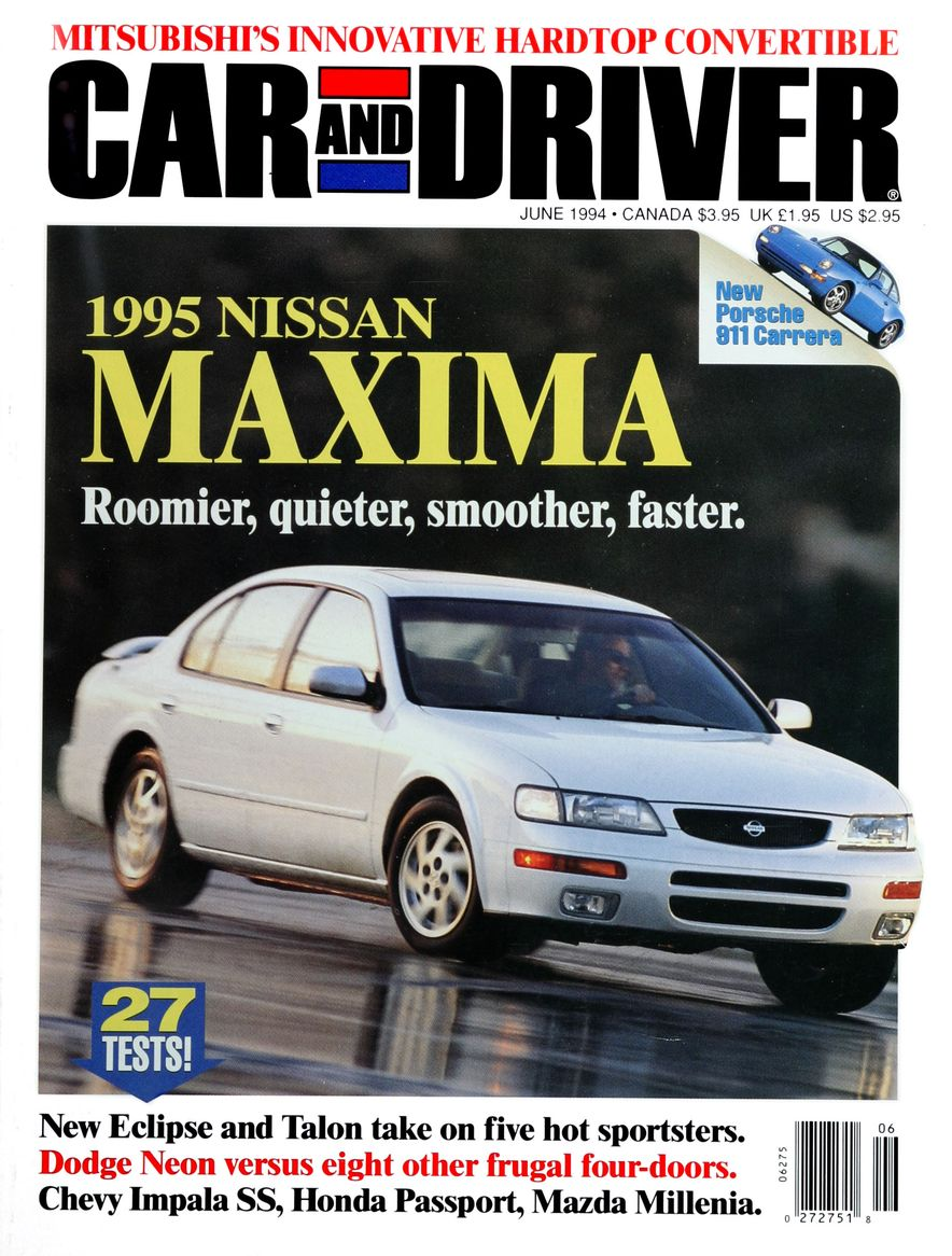 Formula C/D: The Car and Driver Covers of the 1990s - Slide 55