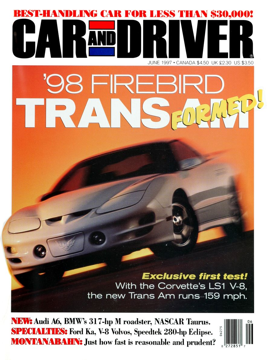 Formula C/D: The Car and Driver Covers of the 1990s - Slide 91
