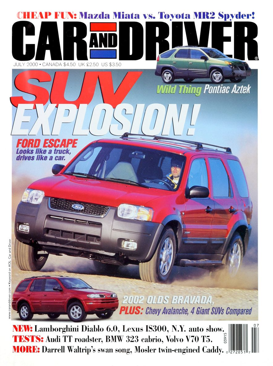 Going Millennial: The Car and Driver Covers of the 2000s and 2010s - Slide 8