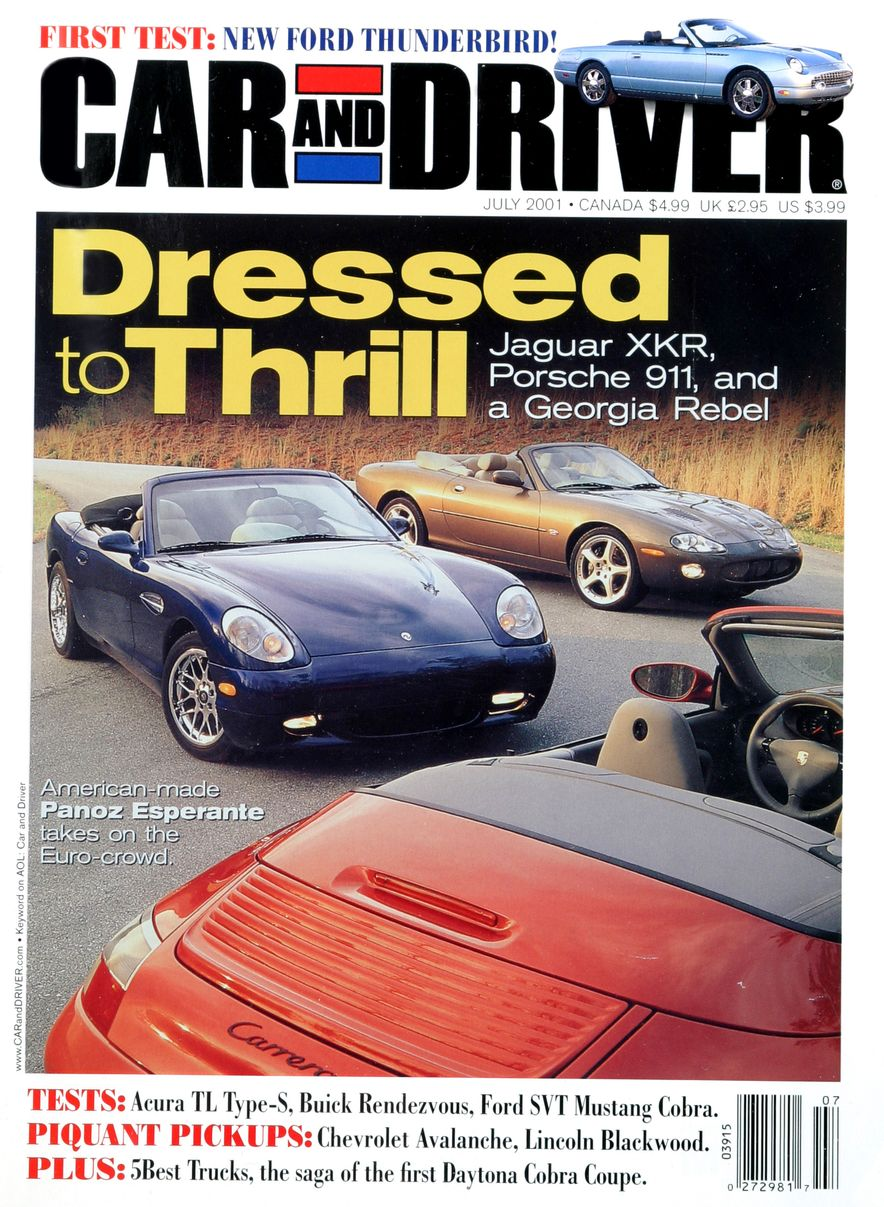 Going Millennial: The Car and Driver Covers of the 2000s and 2010s - Slide 20