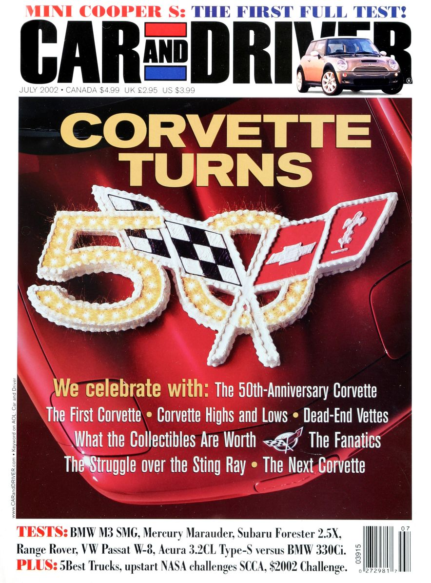 Going Millennial: The Car and Driver Covers of the 2000s and 2010s - Slide 32