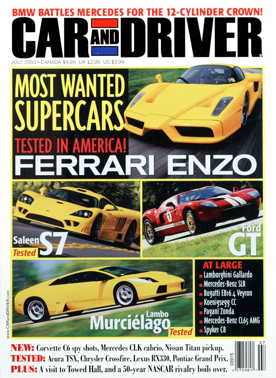 Going Millennial: The Car and Driver Covers of the 2000s and 2010s - Slide 44