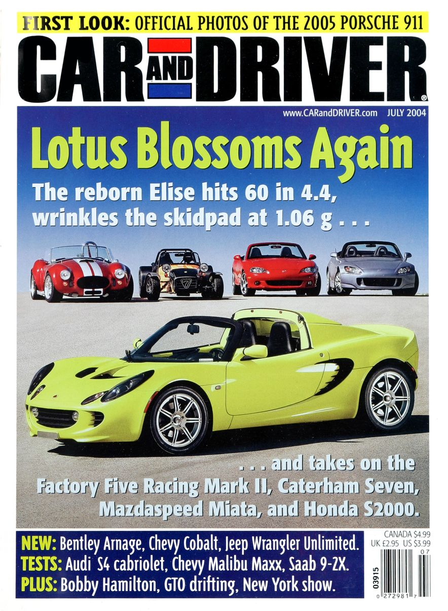 Going Millennial: The Car and Driver Covers of the 2000s and 2010s - Slide 56