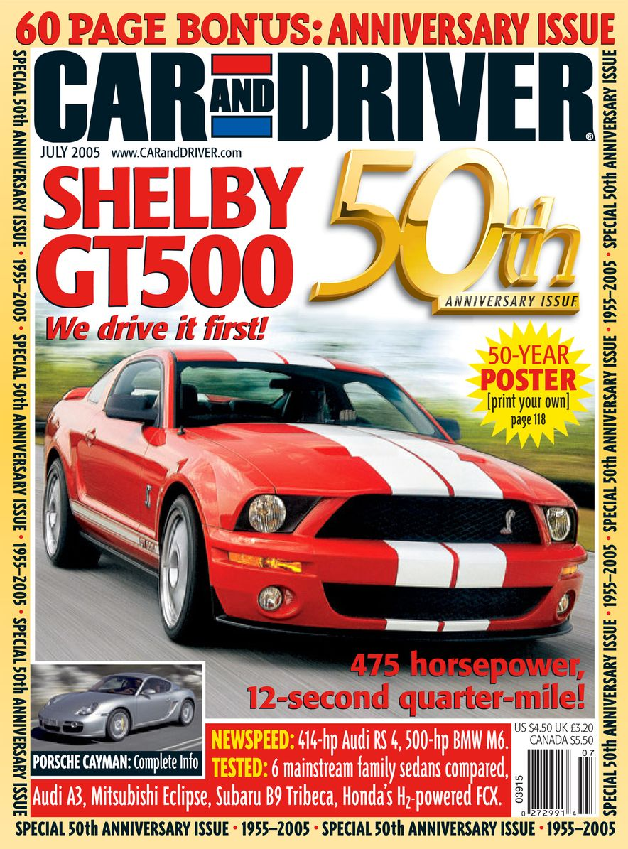 Going Millennial: The Car and Driver Covers of the 2000s and 2010s - Slide 68
