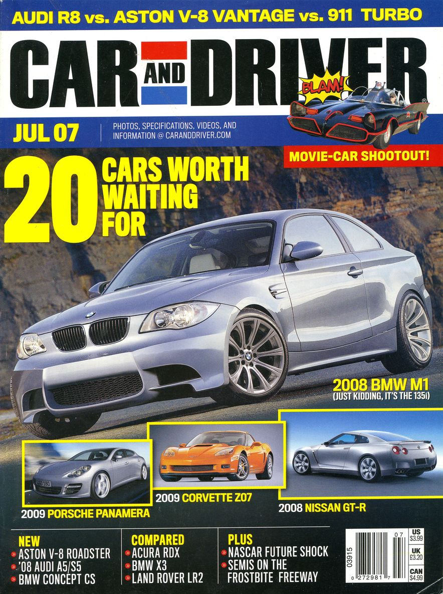 Going Millennial: The Car and Driver Covers of the 2000s and 2010s - Slide 92