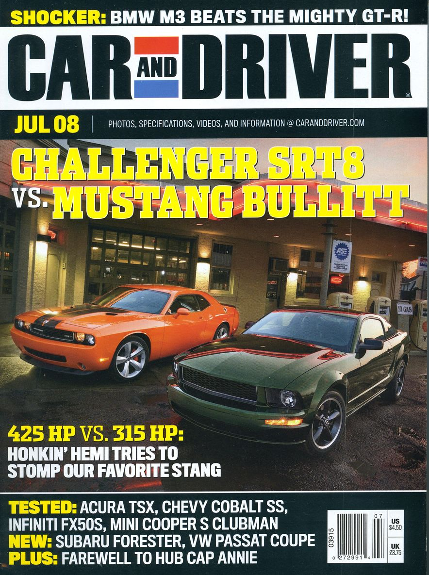 Going Millennial: The Car and Driver Covers of the 2000s and 2010s - Slide 104