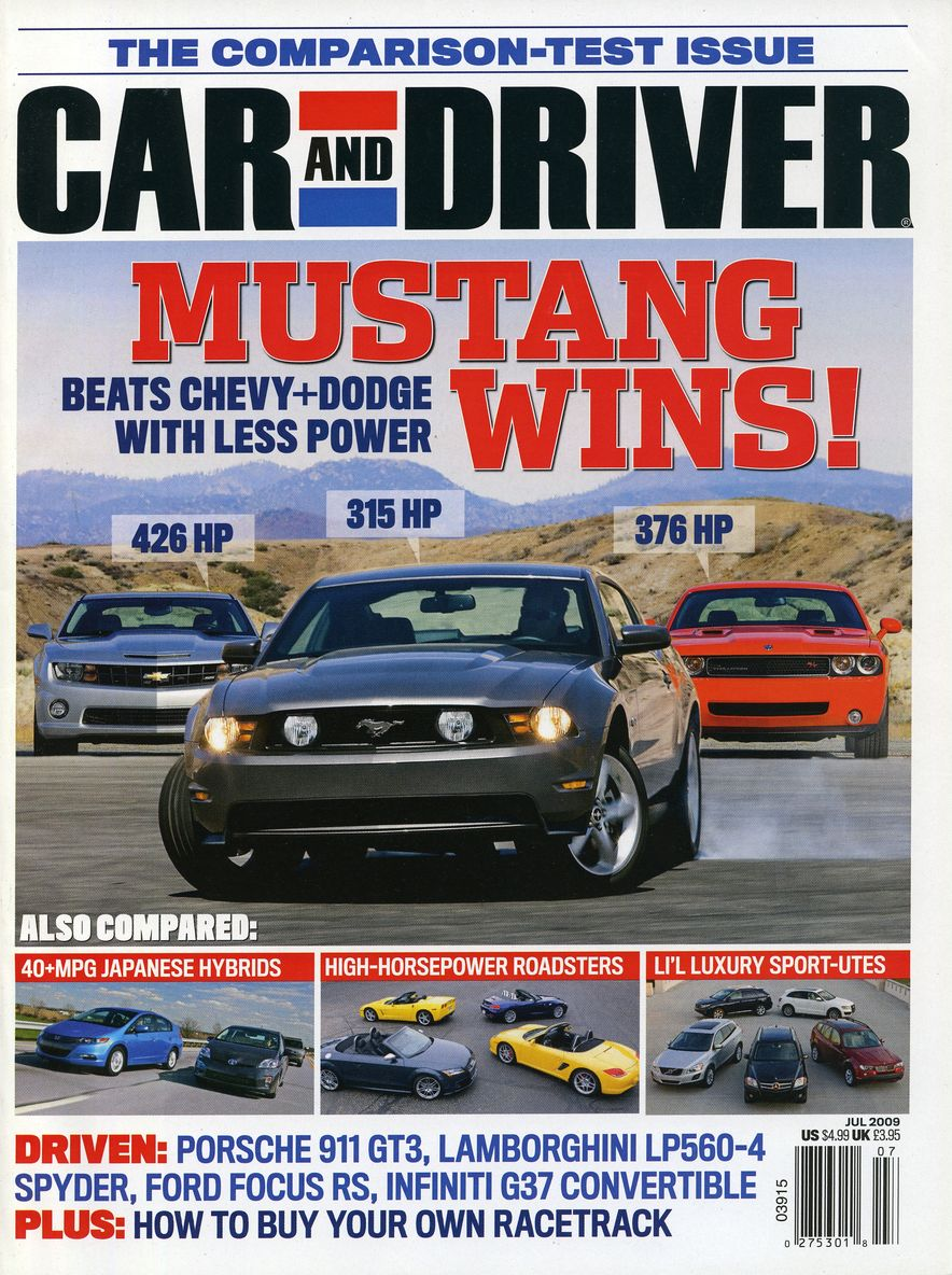 Going Millennial: The Car and Driver Covers of the 2000s and 2010s - Slide 116