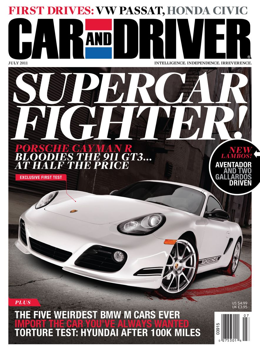 Going Millennial: The Car and Driver Covers of the 2000s and 2010s - Slide 140