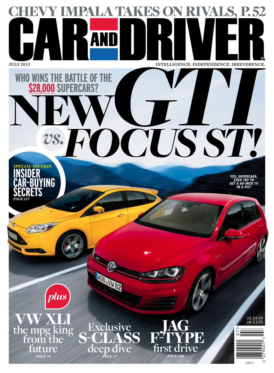 Going Millennial: The Car and Driver Covers of the 2000s and 2010s - Slide 164