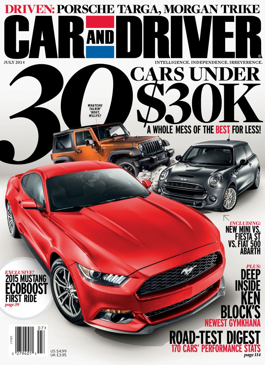 Going Millennial: The Car and Driver Covers of the 2000s and 2010s - Slide 176