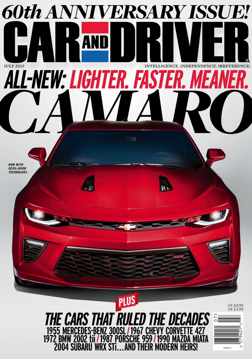 Going Millennial: The Car and Driver Covers of the 2000s and 2010s - Slide 188
