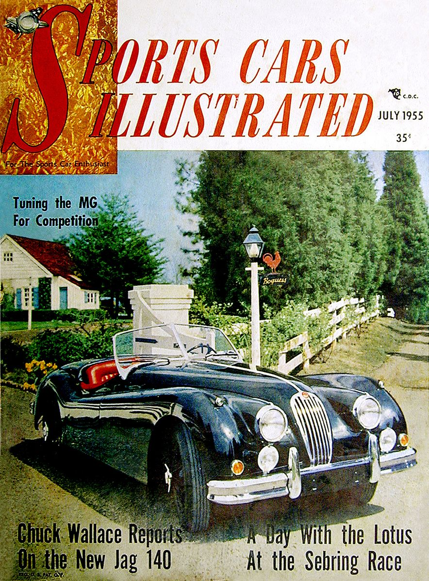 When We Were Young: The Car and Driver/Sports Cars Illustrated Covers of the 1950s - Slide 2