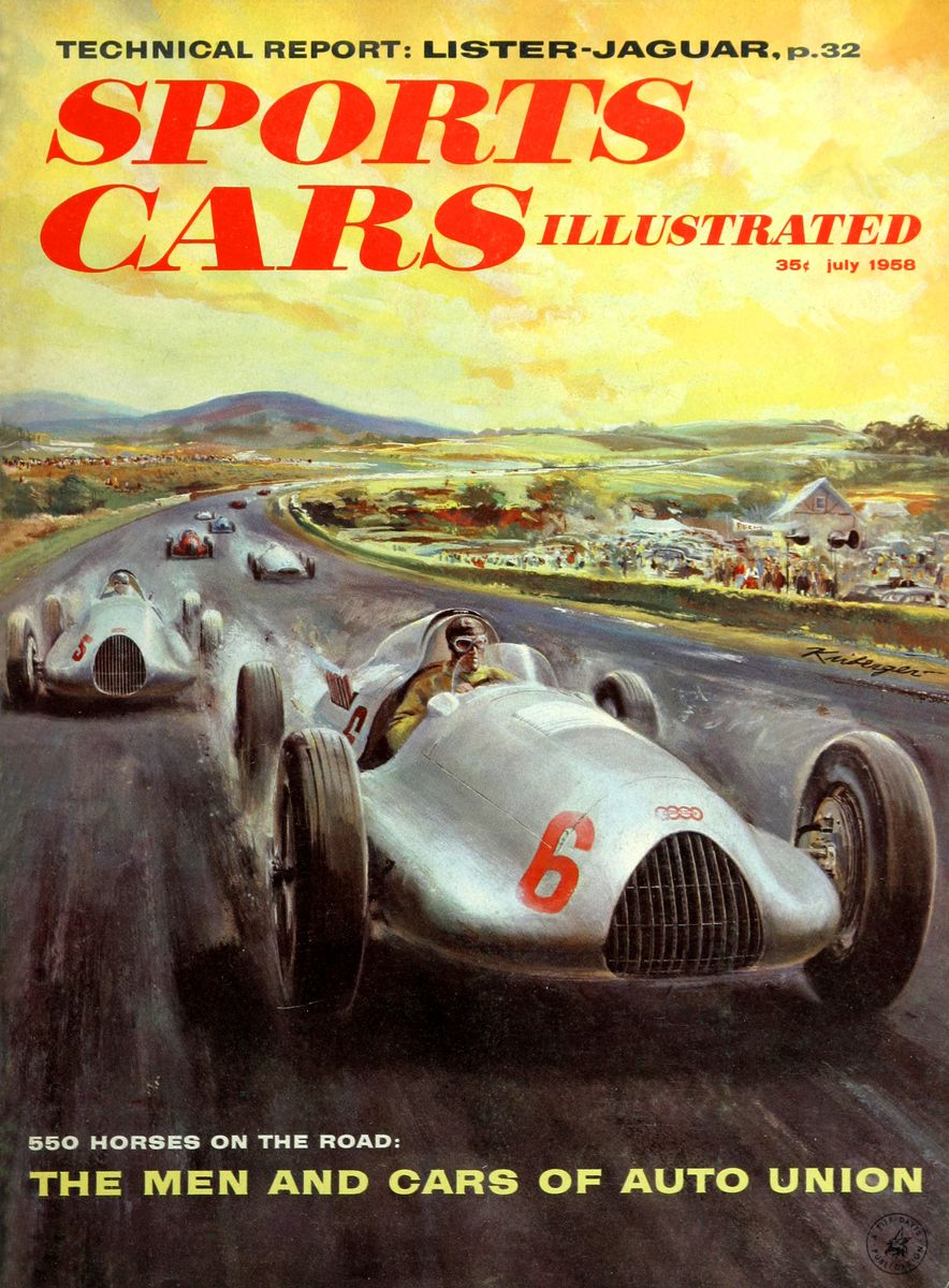 When We Were Young: The Car and Driver/Sports Cars Illustrated Covers of the 1950s - Slide 38