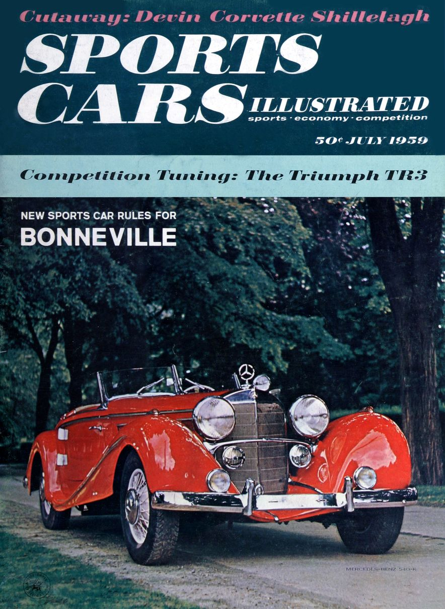 When We Were Young: The Car and Driver/Sports Cars Illustrated Covers of the 1950s - Slide 50