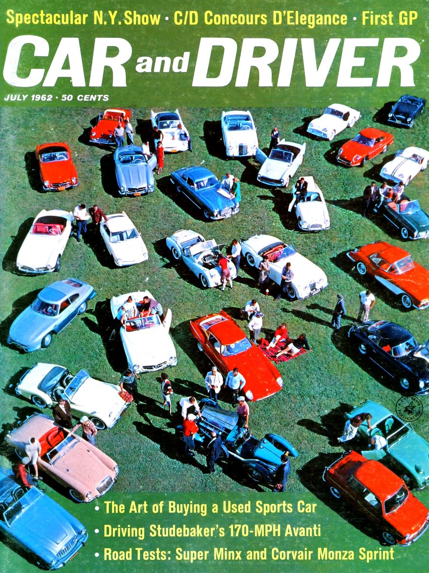 Getting Groovy and into the Groove: The Car and Driver Covers of the 1960s - Slide 32