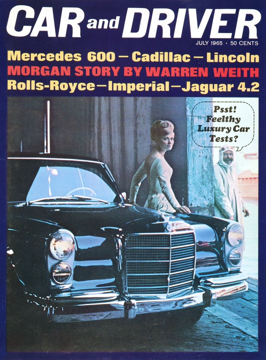 Getting Groovy and into the Groove: The Car and Driver Covers of the 1960s - Slide 68