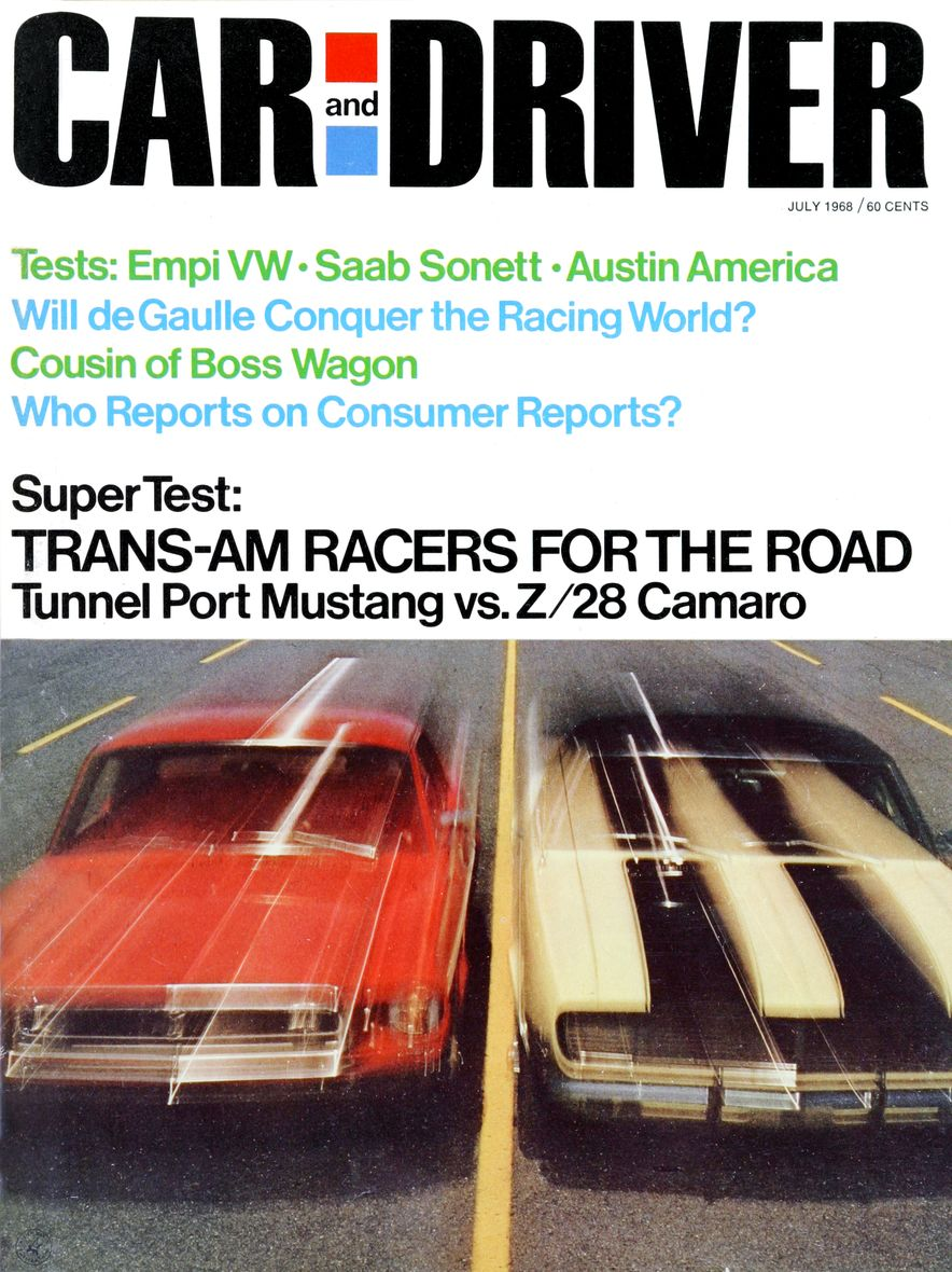 Getting Groovy and into the Groove: The Car and Driver Covers of the 1960s - Slide 104