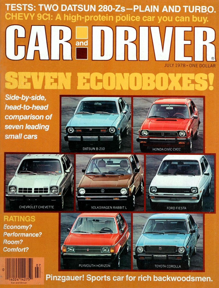 The Us Decade: The Car and Driver Covers of the 1970s - Slide 104