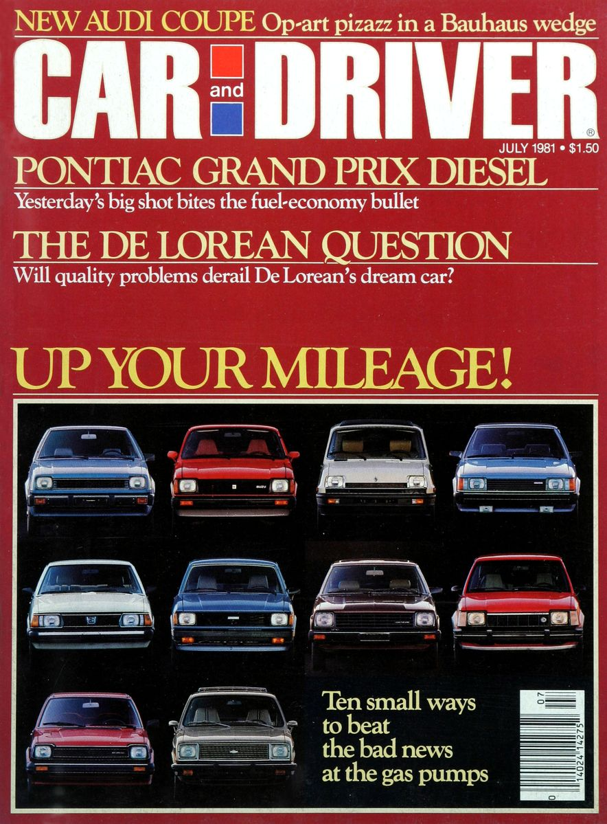 Like, Totally Rad: The Car and Driver Covers of the 1980s - Slide 20