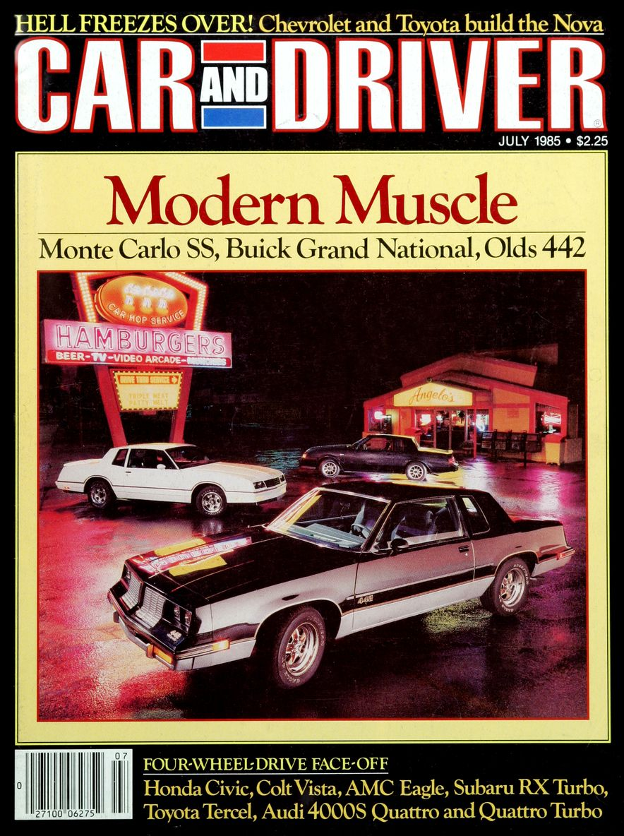 Like, Totally Rad: The Car and Driver Covers of the 1980s - Slide 68