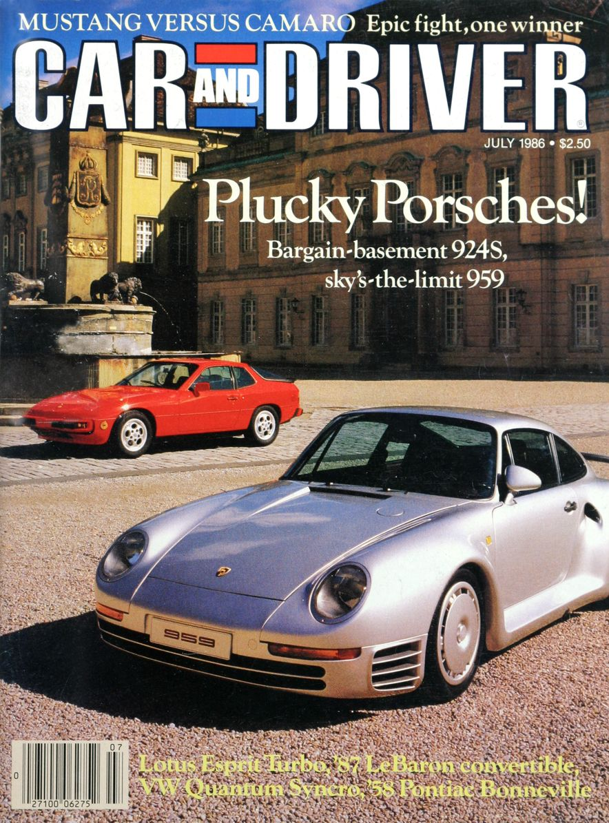 Like, Totally Rad: The Car and Driver Covers of the 1980s - Slide 80