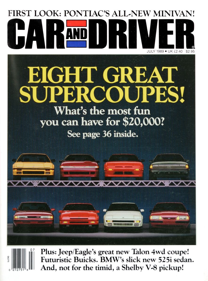Like, Totally Rad: The Car and Driver Covers of the 1980s - Slide 116