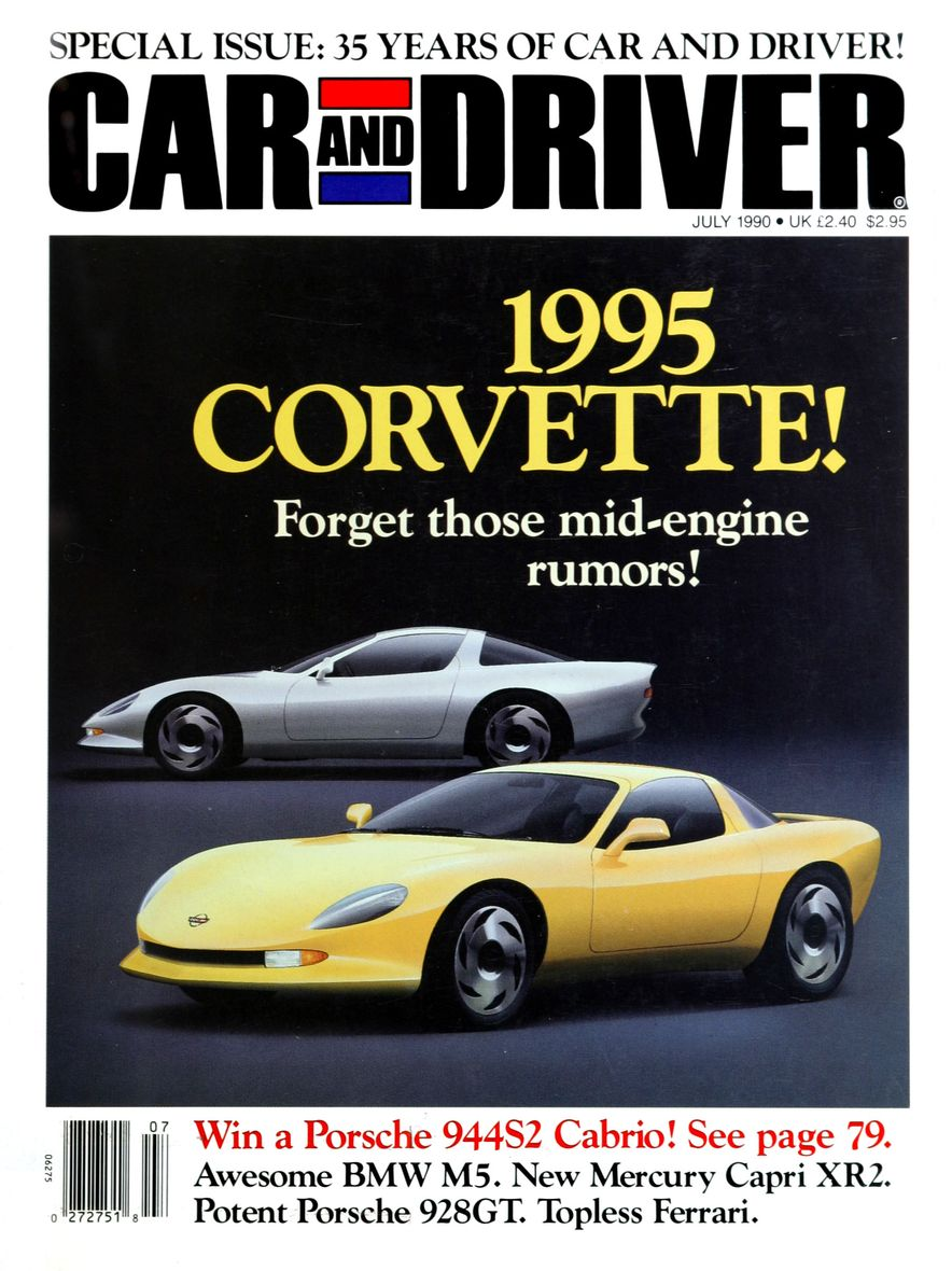Formula C/D: The Car and Driver Covers of the 1990s - Slide 8